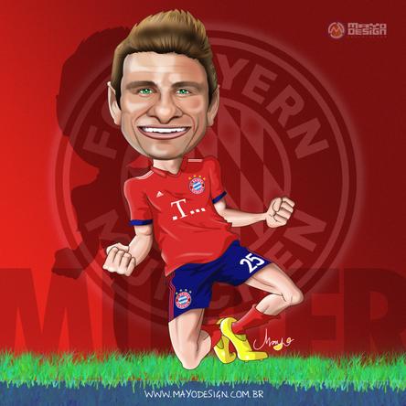 Caricatura Müller