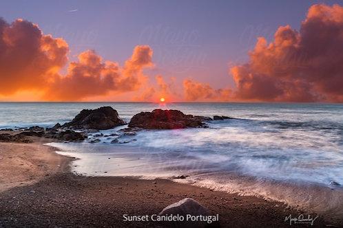 Impressão Fine Art 'Ocean Sunset'