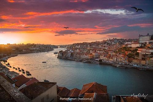Impressão Fine Art Sunset Porto
