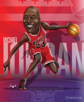 Caricatura Jordan
