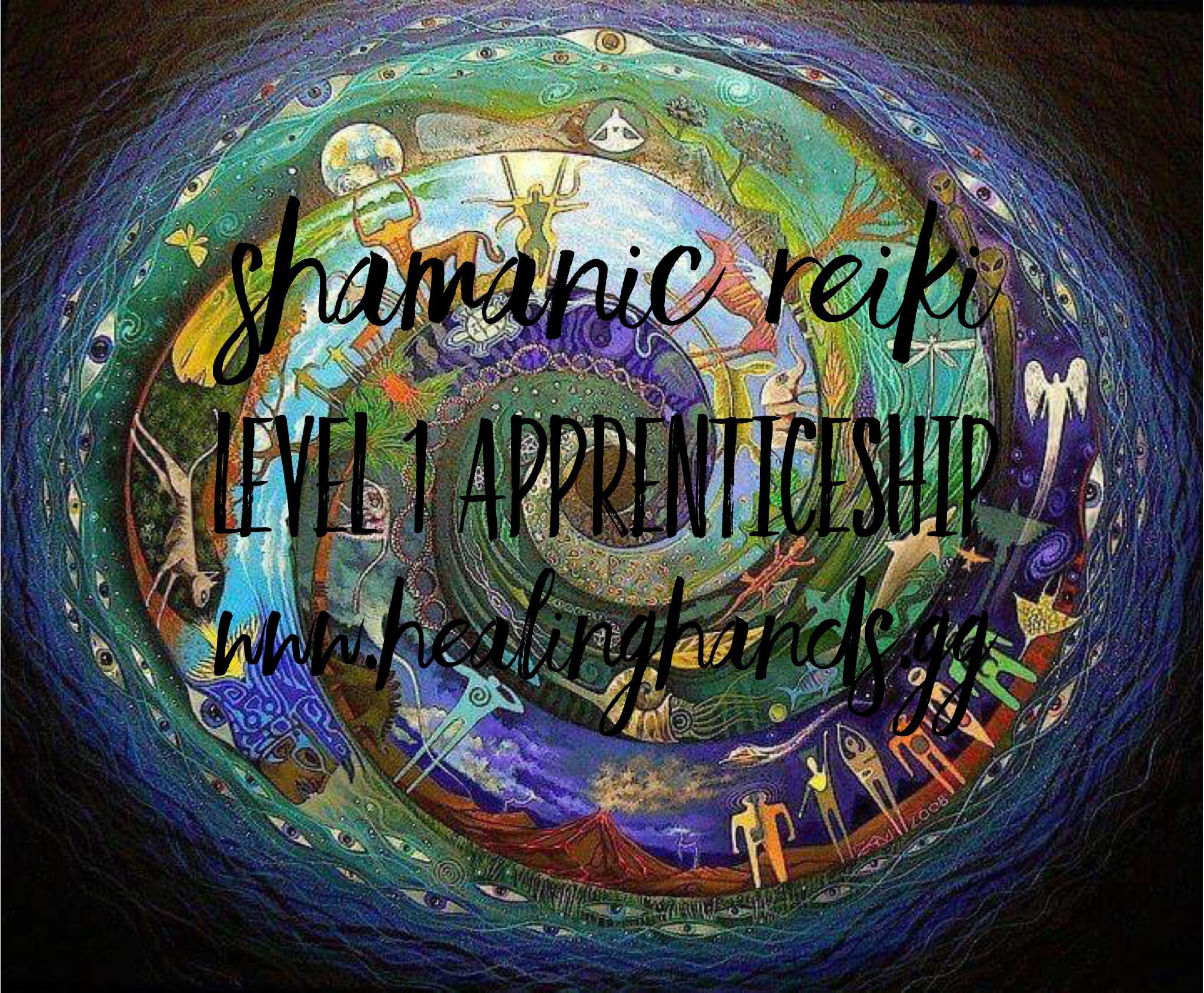 Shamanic Reiki Level 1 Course (Physical)