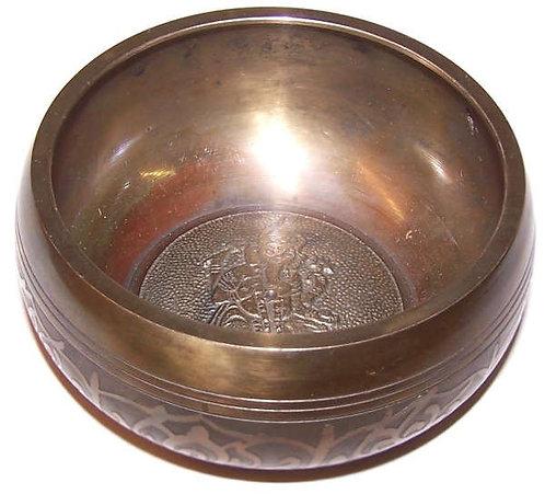 Ganesh Singing Bowl with Velvet Stick