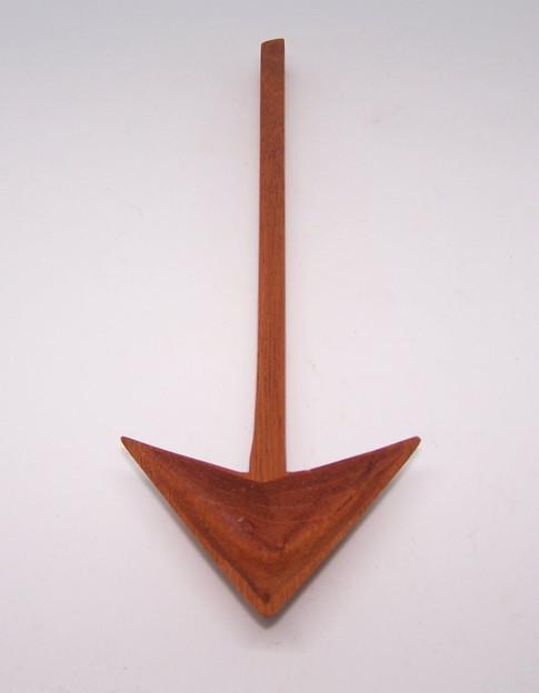 Mahogany Arrow Spoon