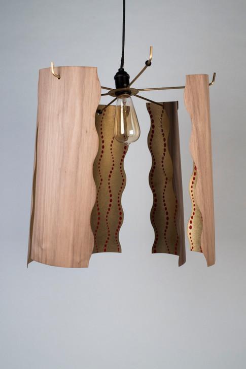 Hanging Veneer Lamp