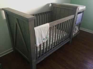 Custom Farmstyle Crib