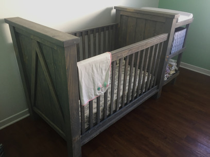 Custom Farmstyle Crib