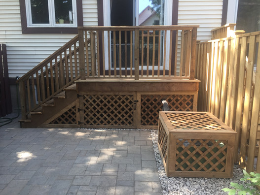 Small Deck/AC Cover
