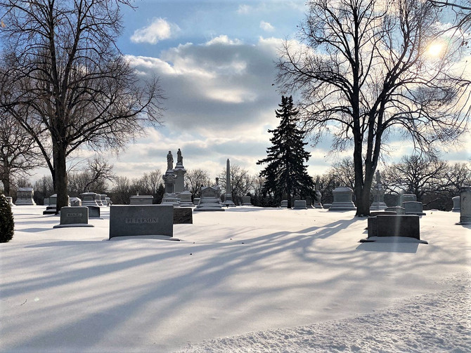 How do I research loved ones buried at Lakewood?
