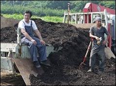 農作業中のひと休み