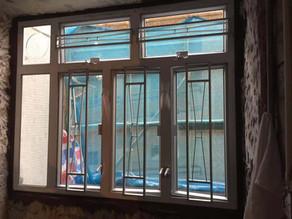 粉嶺祥華邨公屋鋁窗工程