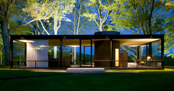 PHILIP JOHNSON 設計了自己的玻璃屋住宅(The Glass House).jpg