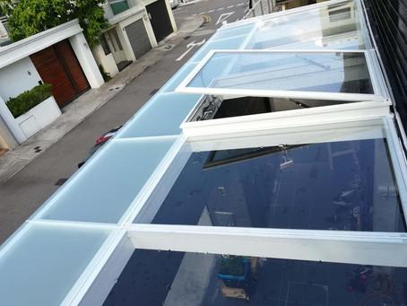 加州花園 錦繡花園 車庫天窗改造工程