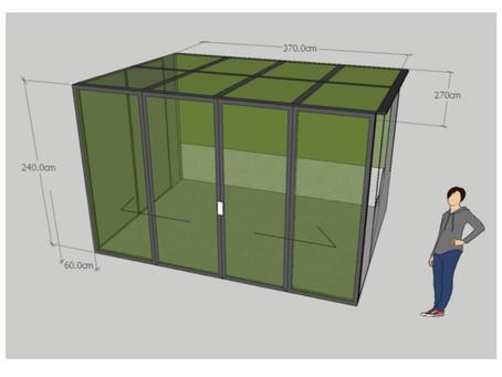 海景豪宅天台玻璃屋
