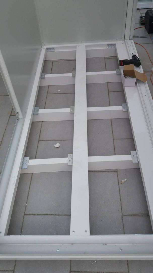 組合屋 地台升高方便去水
