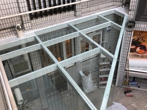 九龍塘 高尚住宅又一村花園 玻璃棚