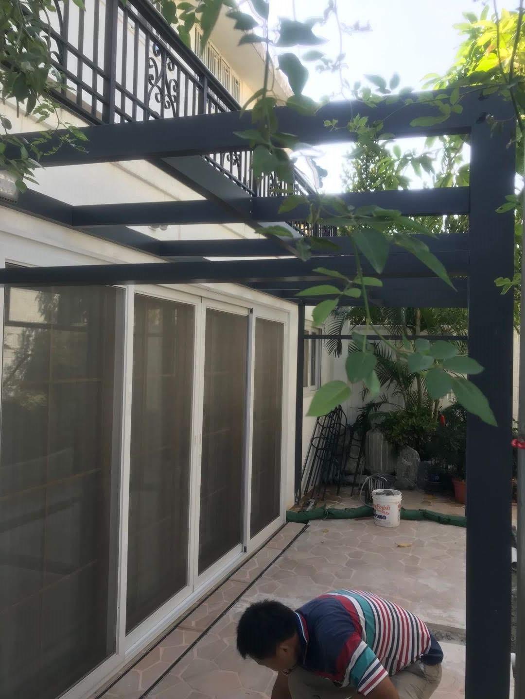 花園 鋁通支架