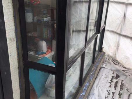 原本此單位窗台嚴重漏水