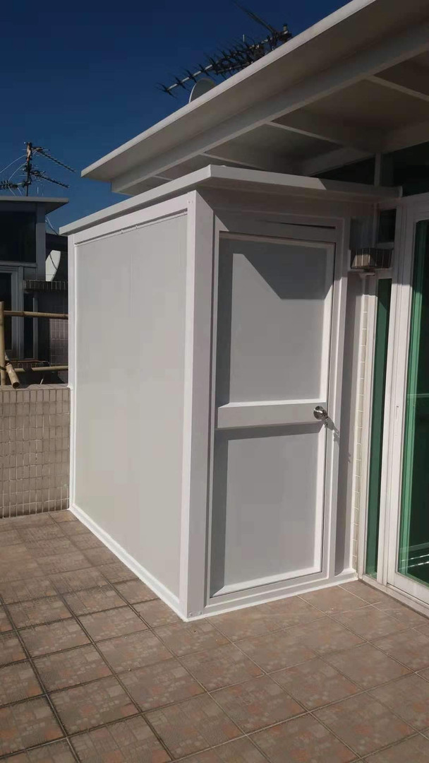 小型天台廁所