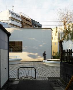 緑道沿いの住宅