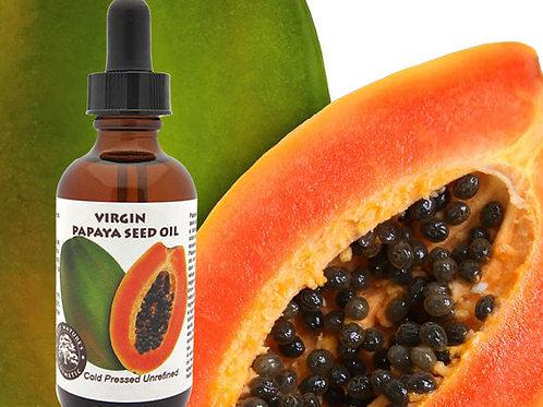 Virgin Papaya Seed Oil - undiluted, cold pressed,
