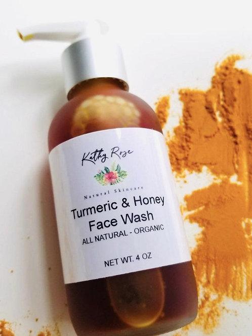 Turmeric & Raw Manuka Honey Face Wash