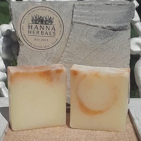 Mango Papaya Soap - handmade soap - homemade soap