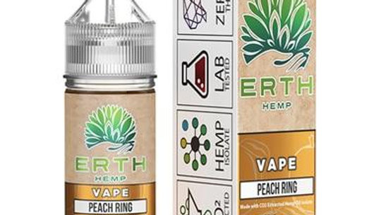 ERTH - CBD Vape Juice - Peach Ring - 250mg-1000mg