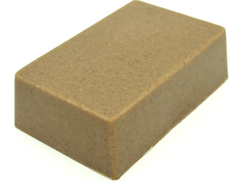Moroccan Rhassoul clay soap bar. All Natural SLS
