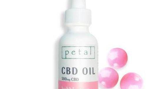 Petal - CBD Tincture - Bubble Gum - 500mg