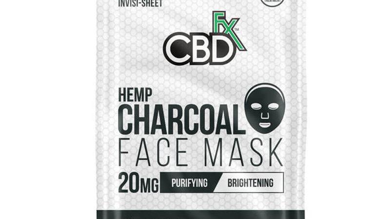 CBDfx - CBD Face Mask - Charcoal - 20mg
