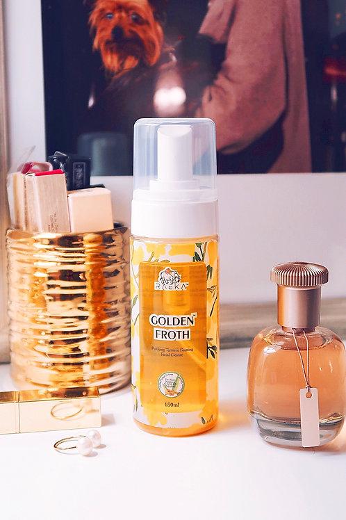RAEKA Golden Froth Turmeric Cleanser 5.07 oz