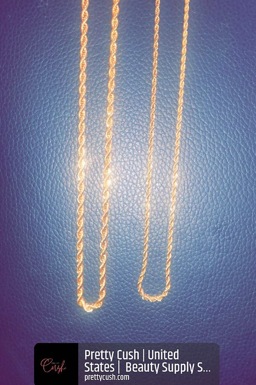 Slick Rick's Muse Gold Rope Chain