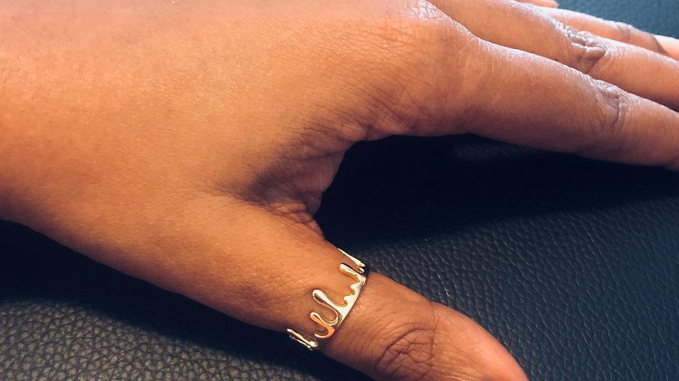 Gold Drip Ring