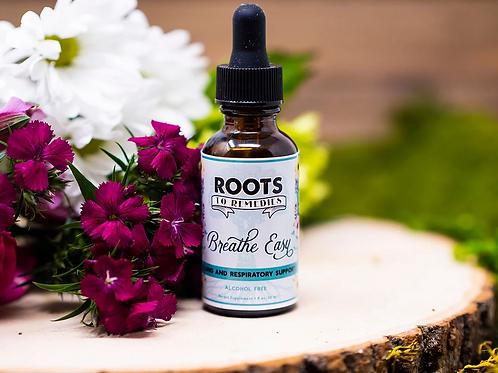 """Breathe Easy"" Respiratory Support Herbal Extract"