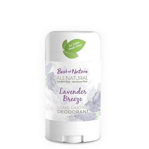 Lavender Breeze Natural Deodorant