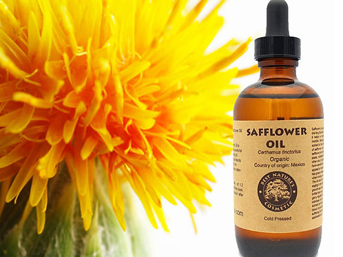 Safflower Seed Oil  Organic -Cold Pressed