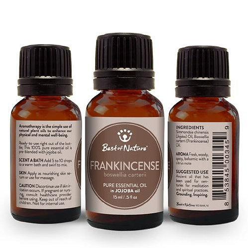 Frankincense Olibanum Essential Oil blended with Jojoba Oil