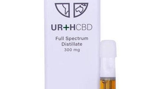 Urth CBD - CBD Cartridge - Sour Diesel Energetic - 300mg