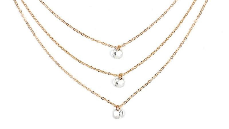 Third Times A Charm Gold Necklace