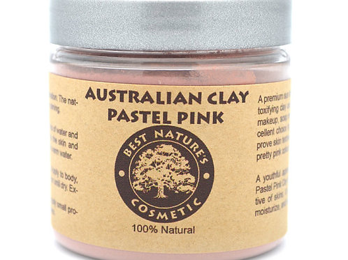 Australian Pastel Pink Clay for stressed, mature