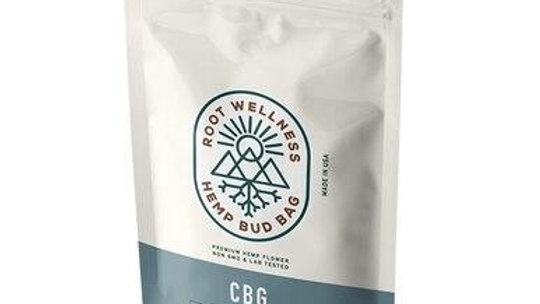 Root Wellness - Hemp Flower - CBG Bud Bag
