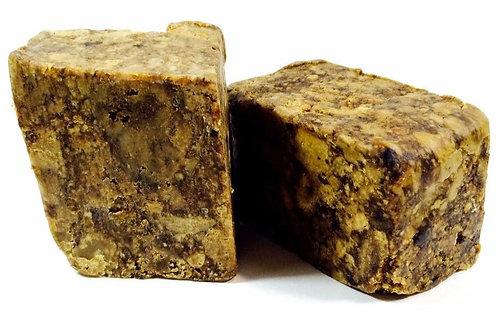 RAW African Black Soap Bar
