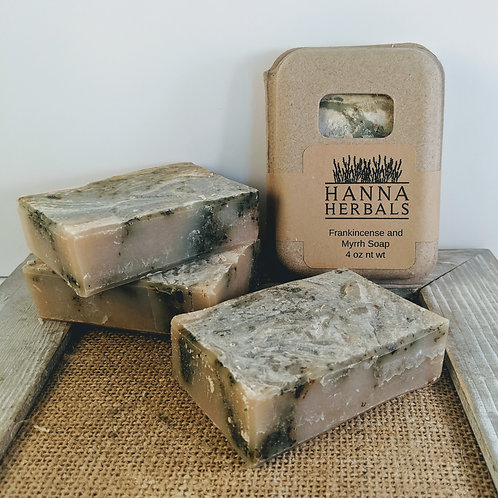 Frankincense and Myrrh Soap - handmade soap - soap