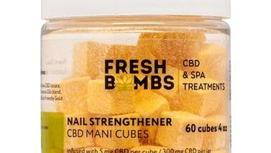 Fresh Bombs - CBD Skincare - Nail Strengthener Manicure Bombs - 5mg