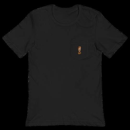 Gold  Isis  Pocket T-Shirt