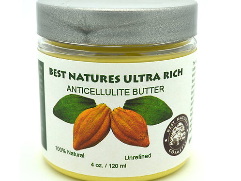 Best Natures Ultra Rich Anticelullite Butter 4 oz