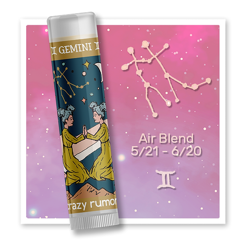 Gemini Lip Balm