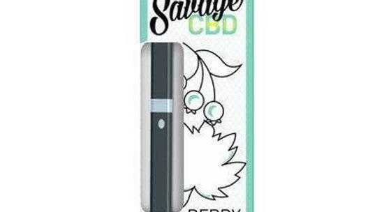 Savage - Disposable CBD Vape - Berry Mint - 200mg