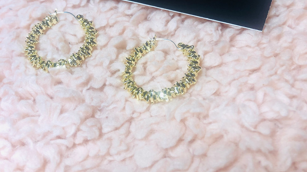 Gold Dust Hoops