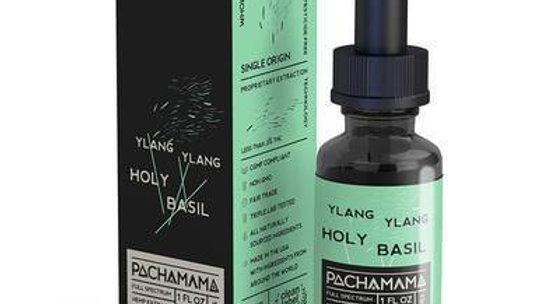 Pachamama - CBD Tincture - Ylang Ylang Holy Basil - 750mg-1750mg